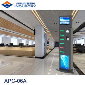 Fasten Ladung-Selbstservice-Elektronik-Handy-Aufladeeinheits-Kiosks APC-06A