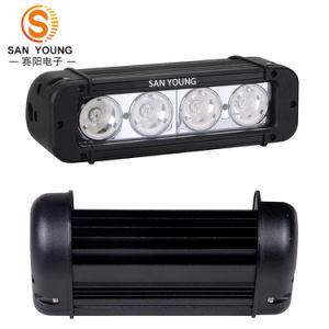 Barre d'éclairage à LED CREE 10W 4X4, double rangée Offroad brouillard Pinceau lumineux à LED