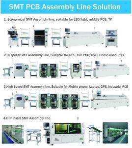 Solução de linha de SMT máquina de solda sem chumbo (M6/8)
