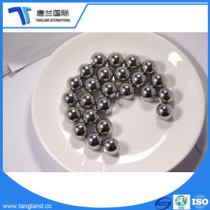 Esfera de aço cromado grau: G10-G1000/HRC: 60-66 com ISO, Iatf