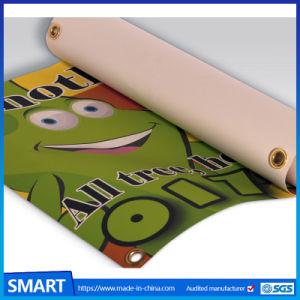 GrommetsのCheapoutdoor Advertizing Custom Logo Printing PVC Vinyl Banner