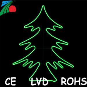 Proyecto de exterior decoración navideña de la calle LED Luz Motif