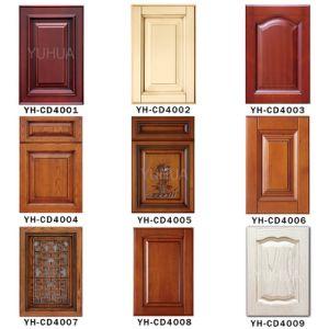 Portello di legno personalizzato mobilia dell'armadio da cucina della quercia della camera da letto (YH-CD4003)