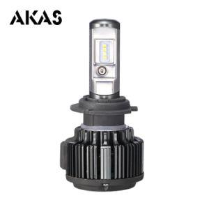 Las bombillas de coche de fábrica China pasan ISO9001 T6 H7 35W luz automática LED