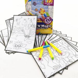 Magic смены цветов окраски творческих игрушки