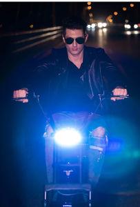 La energía eléctrica moto Scooter Harley Citycoco con batería extraíble y LED de luces de giro