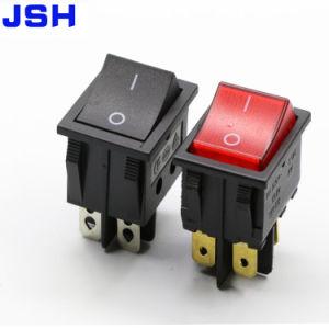4 Pinon off Interruptor basculante negro, el interruptor de la máquina de soldadura eléctrica