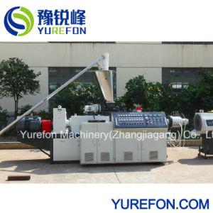 Perfil del tubo de PVC CPVC UPVC paralelo de gránulo extrusionadora de husillo doble precio de la máquina
