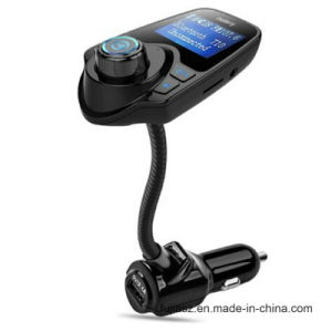 Llegan nuevos T10 Kit de coche reproductor de MP3 Bluetooth el transmisor de FM con soporte cargador Puerto USB Tarjeta TF