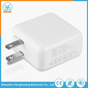 Arbeitsweg-Adapter 5V 2.1A verdoppeln USB-Handy-Aufladeeinheit