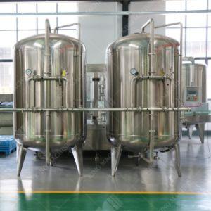 De Filter van de koolstof en van het Zand met het Systeem van de Behandeling van het Water RO/Machine
