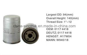 Qualitäts-LKW-Kraftstoffilter für Deutz 01174422