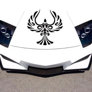 Logotipo de publicidade personalizada adesivos autocolantes de vinil para a janela do carro