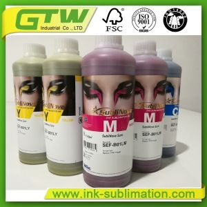 Inchiostro sicuro ad alta intensità di sublimazione di Inktec Sublinova per stampaggio di tessuti