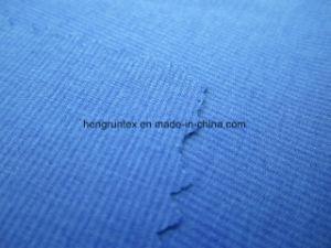 폴리에스테 스판덱스 Yarn-Dyed 가득 차있는 뻗기 줄무늬 바닷가는 직물을 헐덕거린다