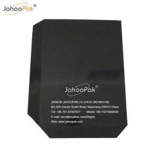 (1000) * (1200+80+80) palets de plástico negro hoja de deslizamiento para empujar/tirar de la máquina