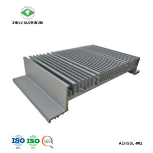 De nieuwe Ontwerp Aangepaste Uitdrijving van het Aluminium met het Anodiseren & CNC het Machinaal bewerken