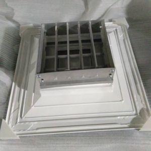 Потолочные системы отопления диффузор холодного воздуха вернуться гриль