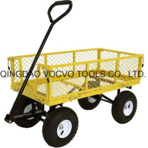 이동할 수 있는 접히는 측을%s 가진 정원 손수레 외바퀴 손수레