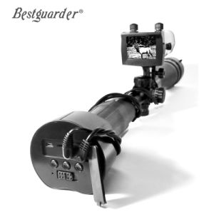 Bestguarder montado en el Ámbito Digital Sistema de visión nocturna por infrarrojos con pantalla LCD de 4,3''