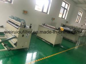 Produzieren der Maschinen, die Zeilen Luftfilter faltet faltende Maschine bilden