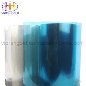 25um/36um/50um/75um/100um/125um保護フィルムの裏付けのための青いペットリリースフィルムはさみ金