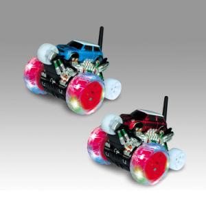 Controle remoto de presentes de Aniversário exclusivo Extreme RC Stunt Carro Eléctrico