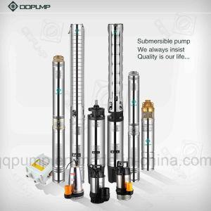 4inch 4HP Pompe submersible à plusieurs degrés en acier inoxydable.