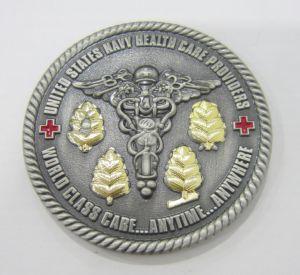 昇進の専門の真鍮の金属の記念品の硬貨のバッジ(124)