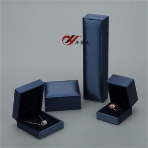 زرقاء, رماديّ, /PU [لثربلستيك] [ستروكأيشن] ومخمل [جولرتي] صندوق