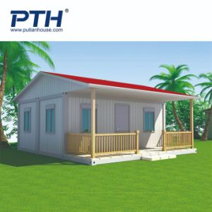 ベネズエラの一時住宅のためのプレハブの家の容器の家のプロジェクト