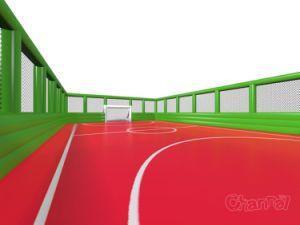 Großer beiliegender aufblasbarer Fußball-Abstand/aufblasbarer Sport-Bereich/aufblasbare Fußball-Arena Chsp522