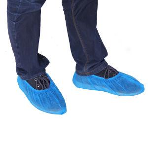 Pp.-nichtgewebter rutschfester Schuh-Deckel