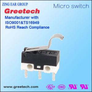 Subminiature 0.1A Micro- Schakelaar met Hefboom voor Elektronische Machines