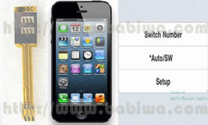 Echter Doppel-SIM Karten-Adapter für Apple iPhone (BW-AGL-5)
