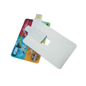 Полноцветная печать кредитной карты флэш-накопитель USB для рекламных материалов