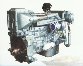 265kw~301kw D12のディーゼル機関の海兵隊員エンジン