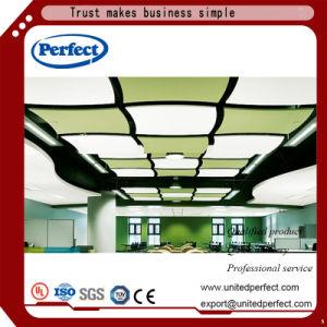Matériaux de décoration Commerial Affle panneau de plafond en fibre de verre incurvé