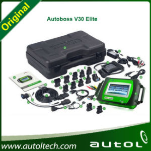 2014 Новые поступления 100% подлинной SPX Autoboss Elite Super Scanner поддержки Multi-Brand автомобилей Autoboss V30 Elite, гарантия 1 год