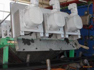30000mg/L, type à vis de la pile de déshydratation des boues de la machine de traitement des eaux de la machine