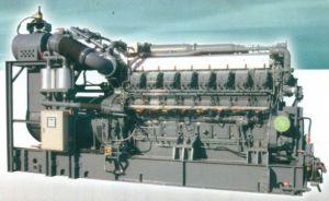 Ensemble de la série Mitsubishi générateur de gaz (315kw-1500KW)
