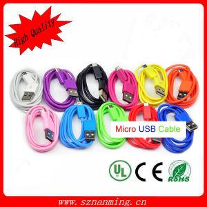 USB ad alta velocità Charger Cable del V8 Flat Micro per Samsung S4