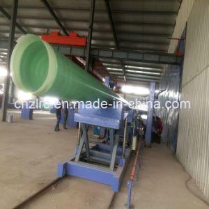 Linea di produzione composita di bobina del tubo FRP della vetroresina automatica GRP di Dn300-2600mm