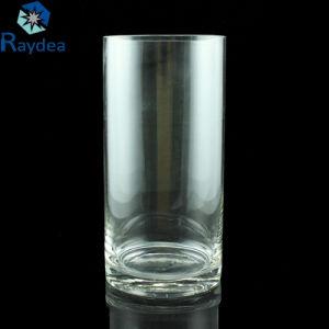大きさの熱い販売の高品質シリンダーガラスつぼ