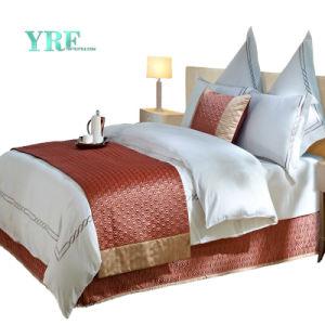綿の高級ホテルのコレクションの寝具セット