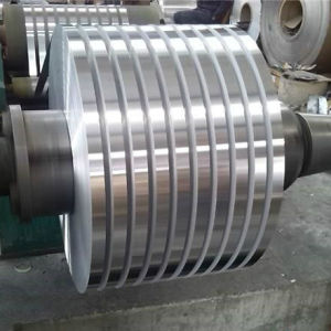 De ronde Band van het Blad van de Strook van het Aluminium van de Rand voor Droge Windende Transformator