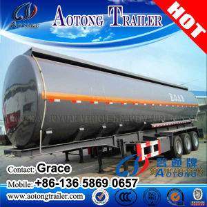 半原油のガソリン販売のためのディーゼルガソリン燃料タンクのトラックのトレーラー