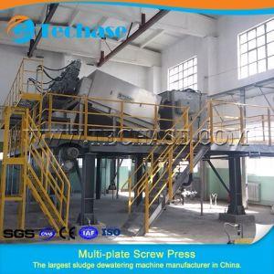 Unità di trattamento di acque luride della pressa a elica del Multi-Piatto per stampa e la tintura più meglio della pressa della cinghia