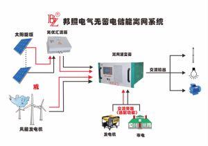 낮은 Frequecy 변압기 잡종은 단계 변환장치 태양 전원 시스템 변환장치를 변환장치 나누었다