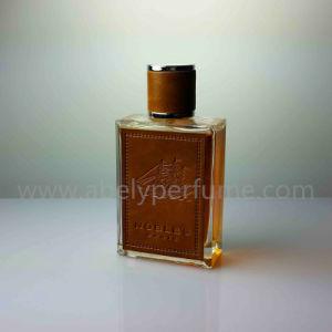 Bouteille de parfum en verre de vente chaude d'homme de prix usine